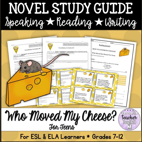 Who Moved My Cheese? for Teens Study Guide