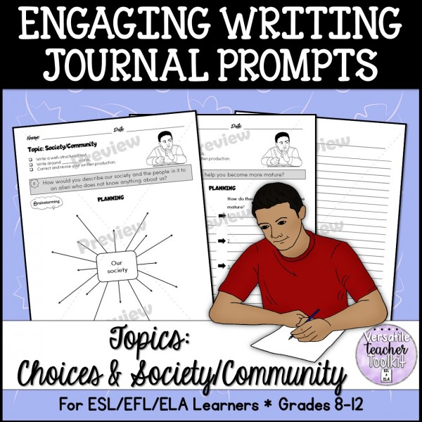 Engaging Writing Journal Prompts 2