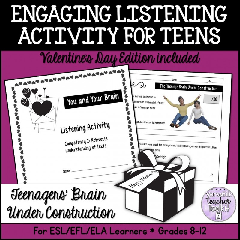 Listening Activity for Teens About Teens