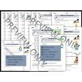 Self-evaluation Forms for ESL/ELA