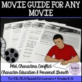 Movie Guide for Any Movie (ESL/ELA/Special Ed)