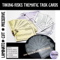 THEMATIC TASK CARDS Taking Risks (Comfort zone)