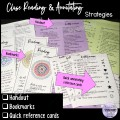 Close Reading and Annotating Strategies