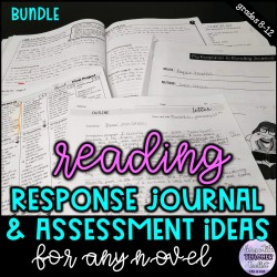 Reading Journal & Assessment Ideas for Novels