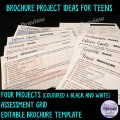 Engaging Brochure Project Ideas for Teens