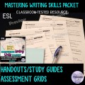 Essay Writing Study Guides and Assessment Rubrics