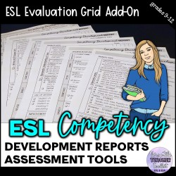 ESL Competency Development Report Forms