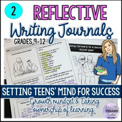 Reflective Journals for Teens  2 (Growth Mindset)