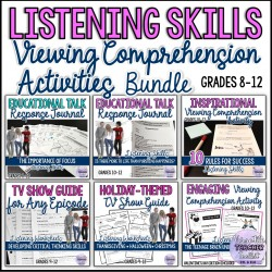 Viewing Comprehension Activities Value Pack