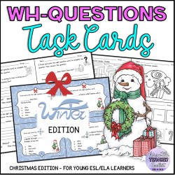 WH-question Words Christmas Edition
