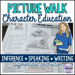 Picture Walk: Character Education (Inference)