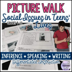 Picture Walk: Social Issues in Teens' Lives