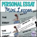 Personal Essay Mini Lesson