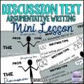 Discussion Text Mini Lesson