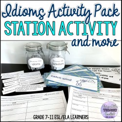 Idioms Activity Pack for ESL  Learners