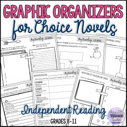 Graphic Organizers for Choice Novels