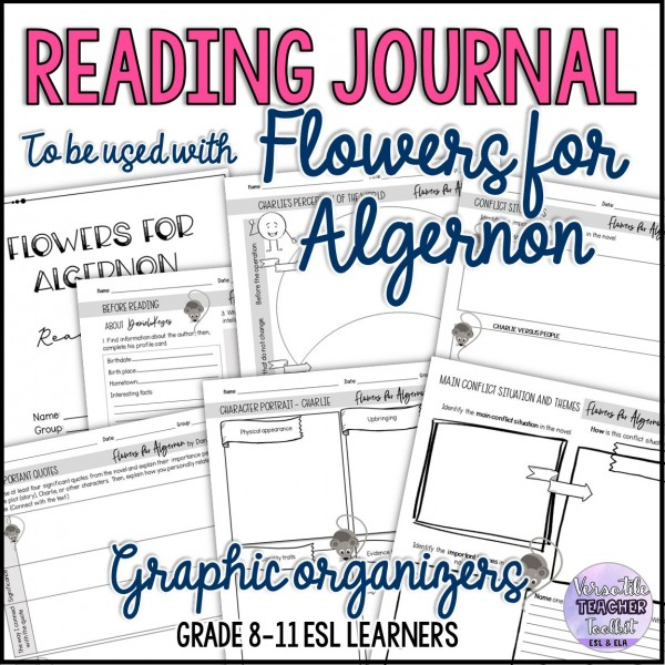 Reading Journal to Accompany Flowers for Algernon