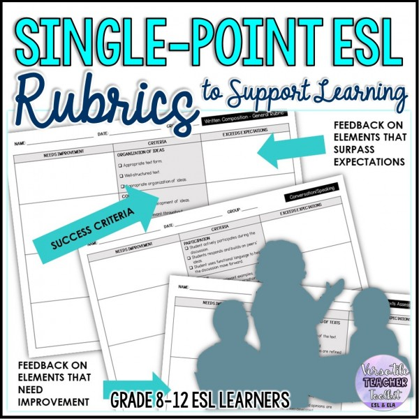 Single-Point ESL Assessment Rubrics