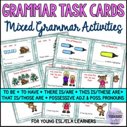 Mixed Grammar Activities for Beginner ESL