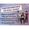 Question Words Posters for the ESL Classroom