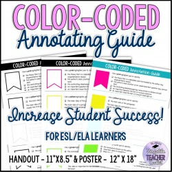 Color-Coded Annotating Guide - Handout and Poster