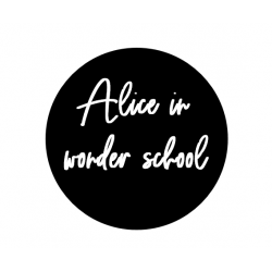 Alice in wonder school