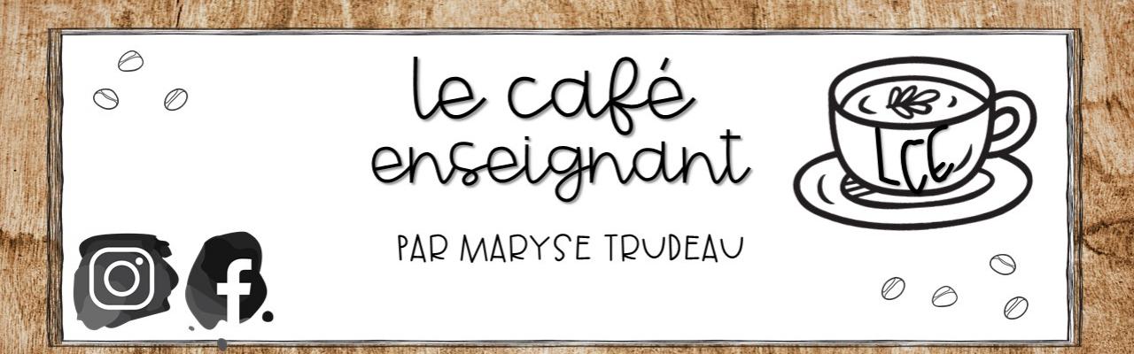 Le café enseignant par MT