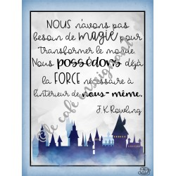 Affiche positive HP