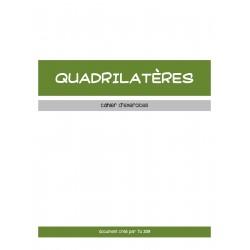 QUADRILATÈRES - DOCUMENT DE TRAVAIL
