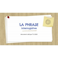 PHRASE INTERROGATIVE - GOOGLE SLIDES