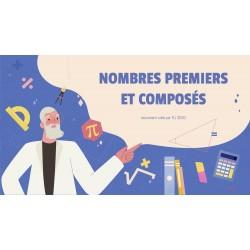 NOMBRES PREMIERS ET COMPOSÉS - GOOGLE SLIDES