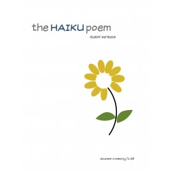 HAIKU POETRY - document de l'élève