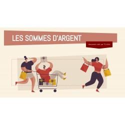 LES SOMMES D'ARGENT - GOOGLE SLIDES