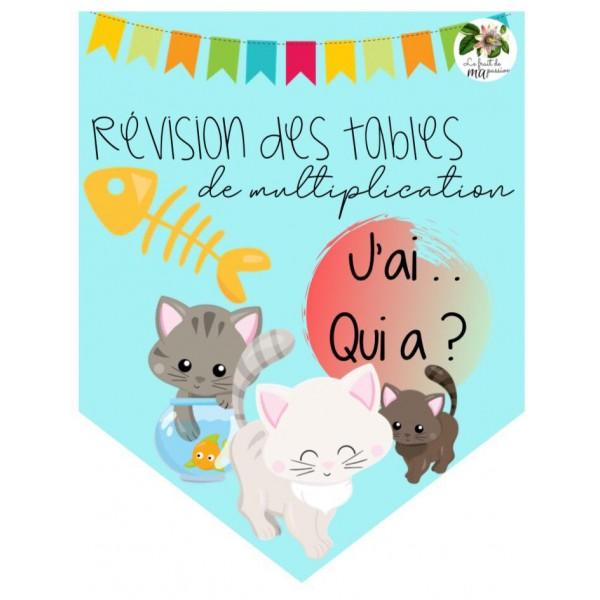Révision des tables de multiplication
