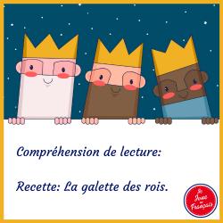 Compréhension de lecture: La galette des rois
