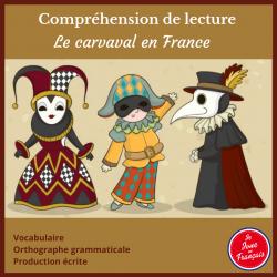 Comp.de lecture Le Carnaval en France