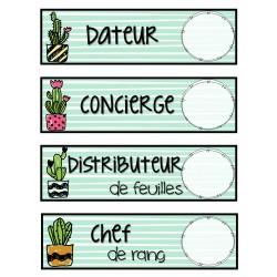 Responsabilités - Menthe et cactus