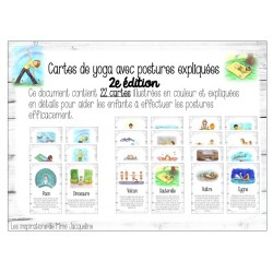 Cartes de yoga 2e édition