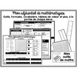 Outil référentiel de mathématiques