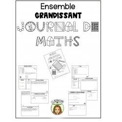 Journal de maths-Ensemble grandissant