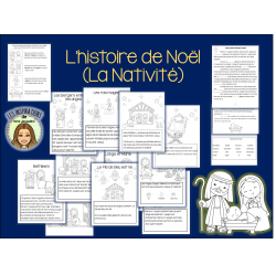 L'histoire de Noël-La nativité