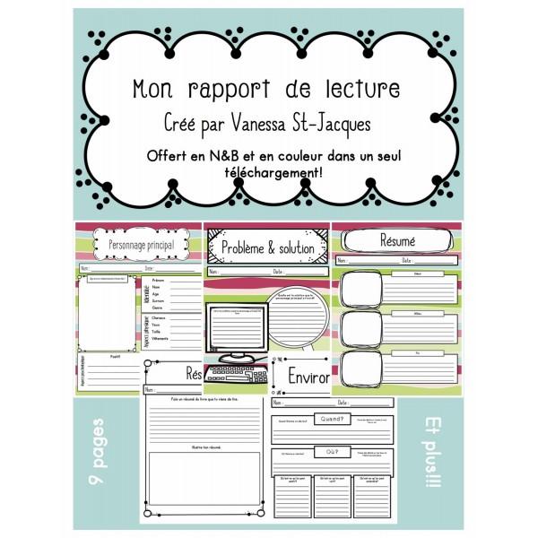 Rapport de lecture - Long