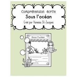 Compréhension écrite - Sous l'océan