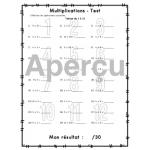 Cahier de multiplications - VERSION AMÉLIORÉE!