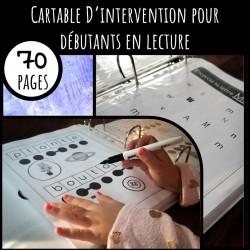 Cartable d'intervention en lecture pour débutants
