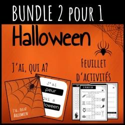 BUNDLE D'HALLOWEEN/J'ai qui a + Feuillet