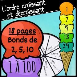 Ordre Croissant/Décroissant, Jeu de maths
