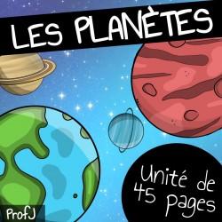 Unité de 45 pages sur les planètes