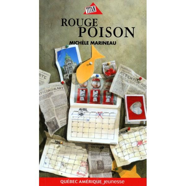"""Carnet de lecture """"Rouge poison"""""""