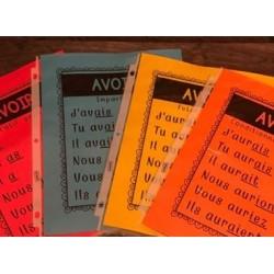 Affiches Verbes